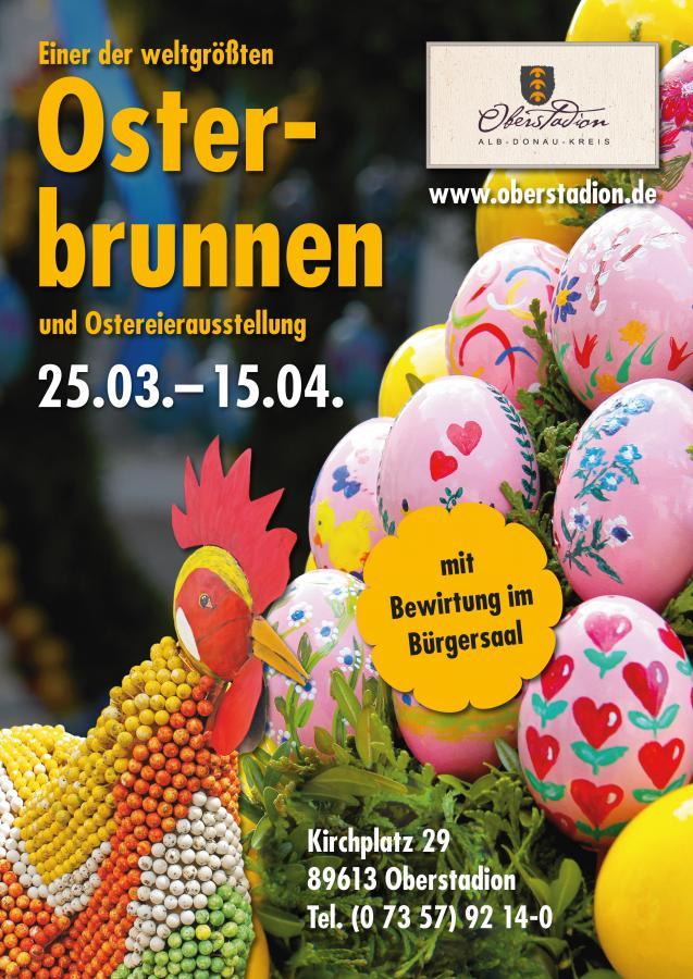 Plakat Osterbrunnen
