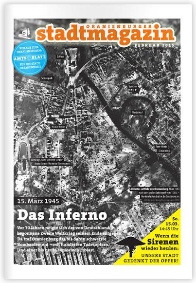 Das Stadtmagazin online lesen ...