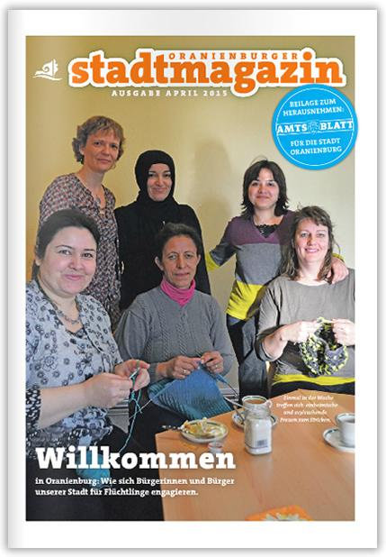 Titel Stadtmagazin April 2015