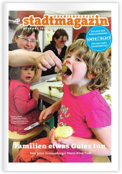 Titel Stadtmagazin Juli-August 2015