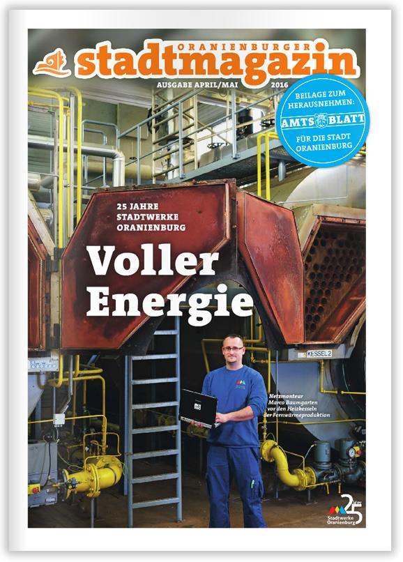 Titel Stadtmagazin April-Mai 2016