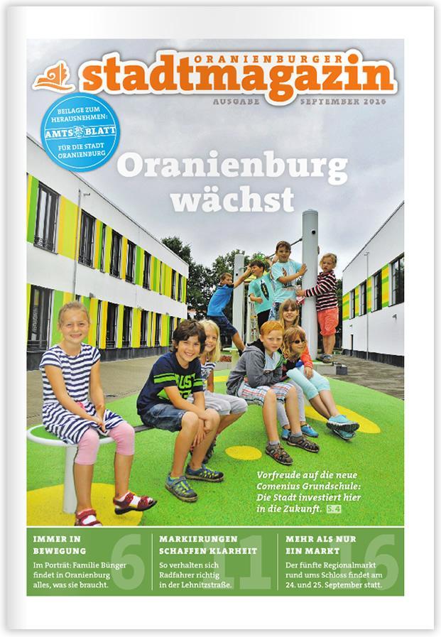 Titel Stadtmagazin September 2016