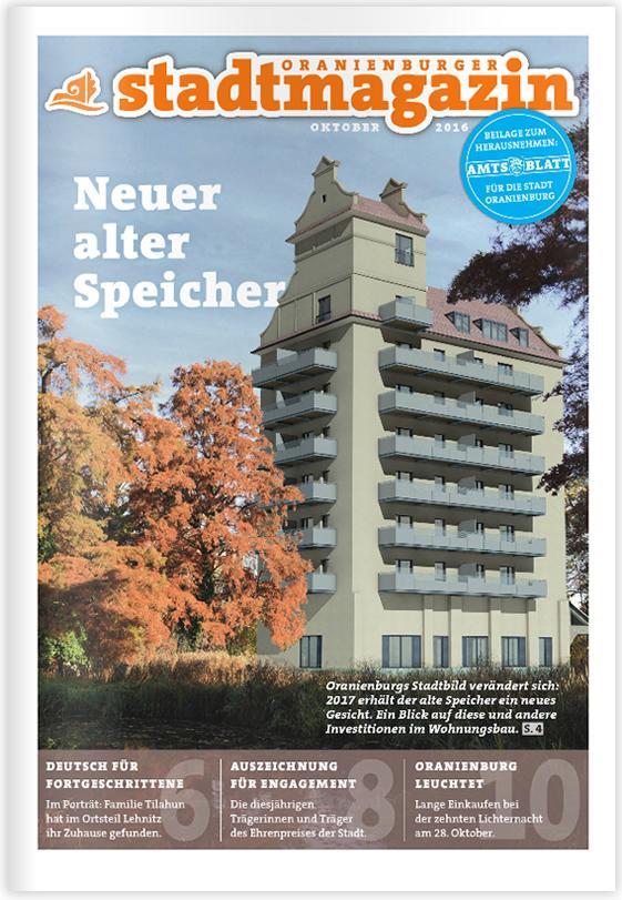 Titel Stadtmagazin Juli-August 2016