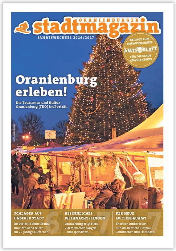 Titel Stadtmagazin Dezember 2016