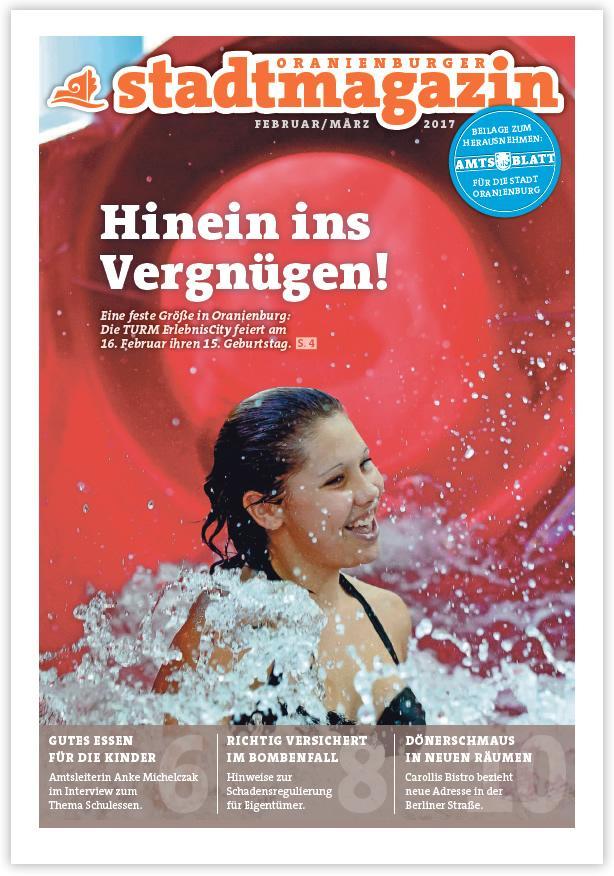 Titel Stadtmagazin Februar 2017
