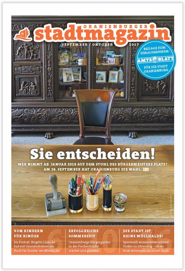 Titel Stadtmagazin September-Oktober 2017