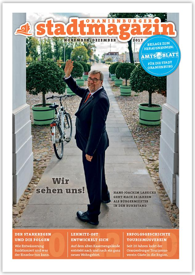 Titel Stadtmagazin Oktober-November 2017