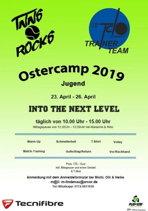 Ostercamp Jugend 2019