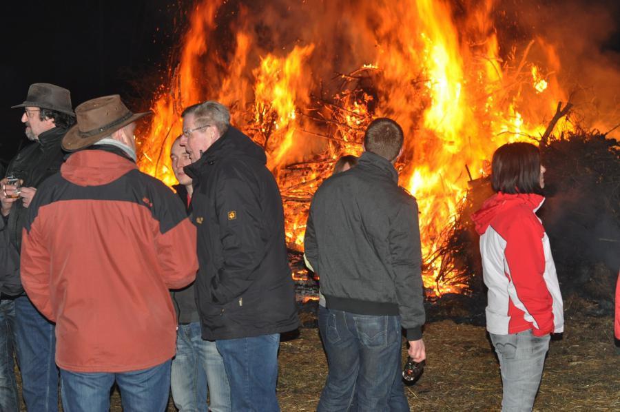 Das Böhmer Osterfeuer