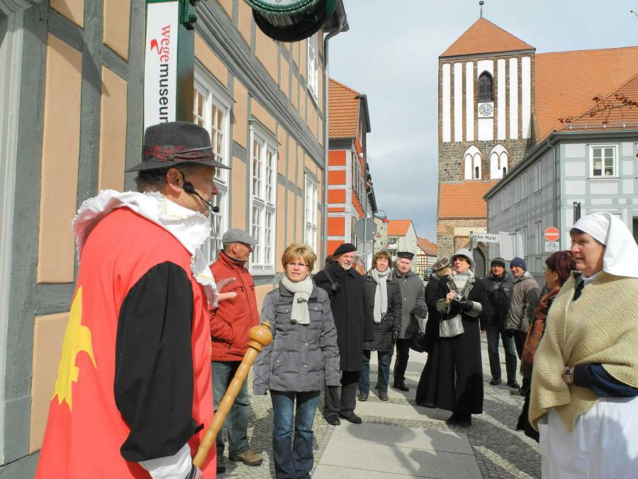 Osterspaziergang in Wusterhausen/Dosse