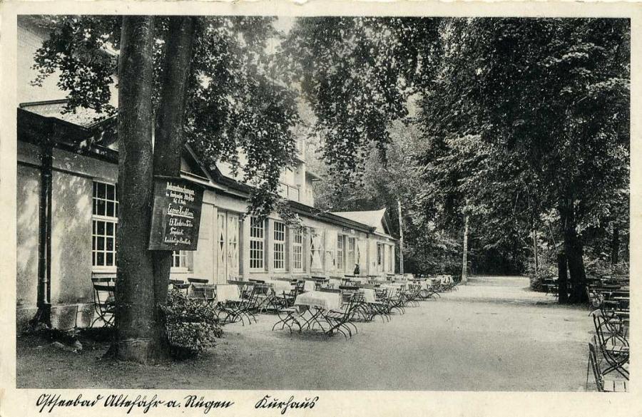 Ostseebad Altefähr a. Rügen Kurhaus  1940