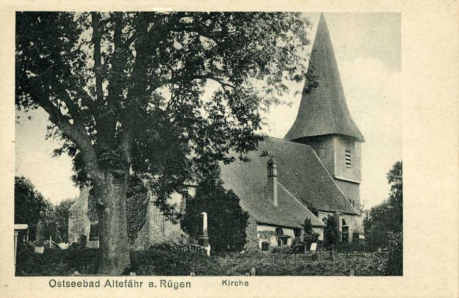 Ostseebad Altefähr a. Rügen Kirche