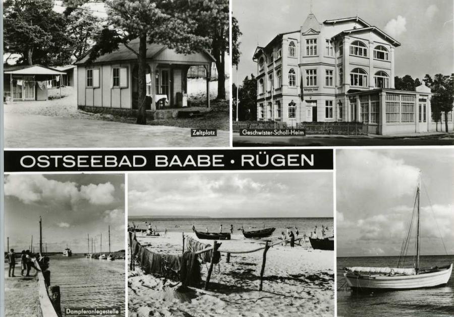 Ostseebad Baabe -Rügen1975