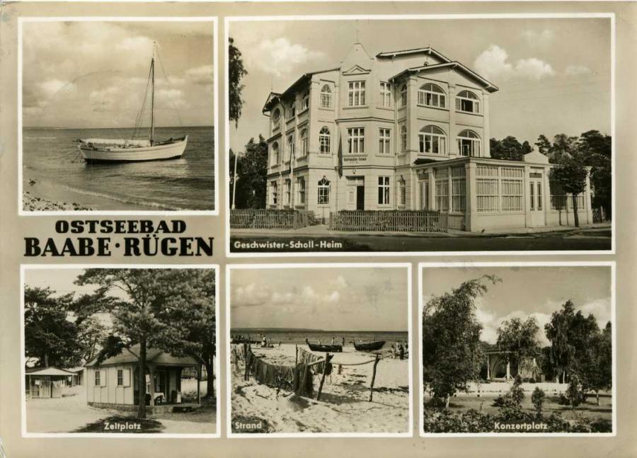 Ostseebad Baabe - Rügen 1967