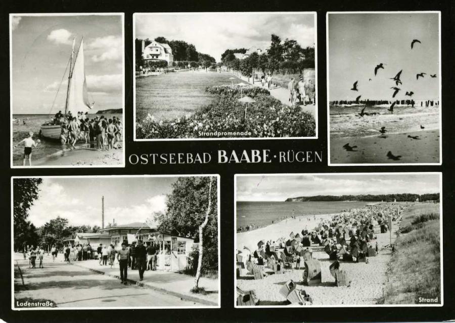 Ostseebad Baabe - Rügen 1968