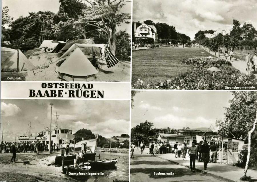 Ostseebad Baabe - Rügen 1969