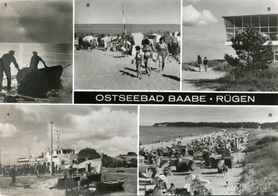 Ostseebad Baabe - Rügen 1984