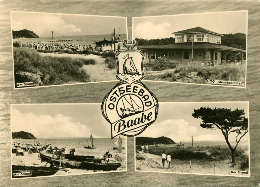 Ostseebad Baabe 1962