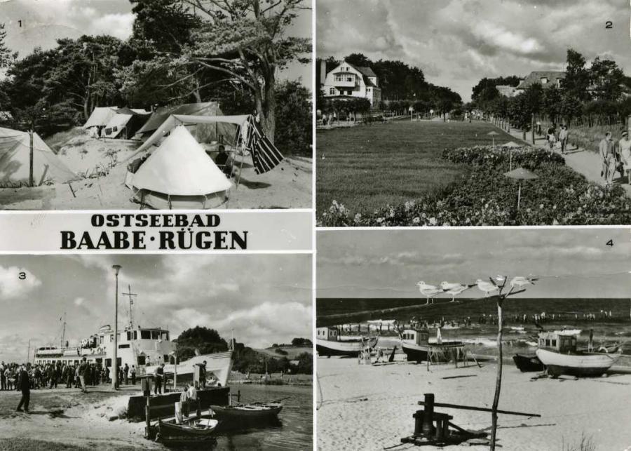 Ostseebad Baabe -Rügen 1975