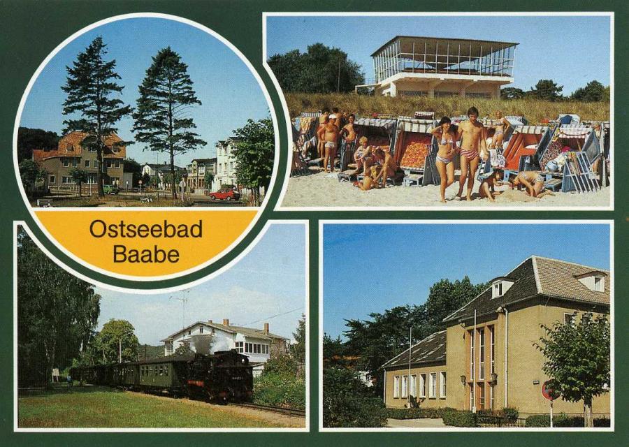 Ostseebad Baabe 1989