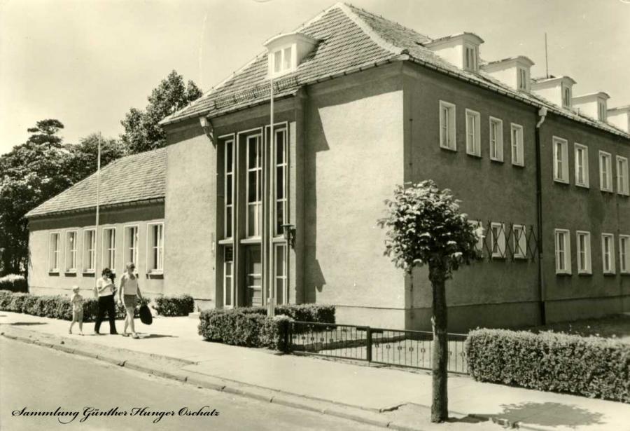 """Ostseebad Baabe  Reichsbahn-Erholungsheim """"Ernst Kamieth"""""""