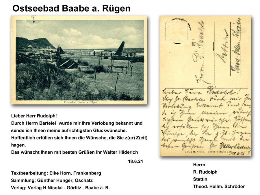 Ostseebad Baabe a