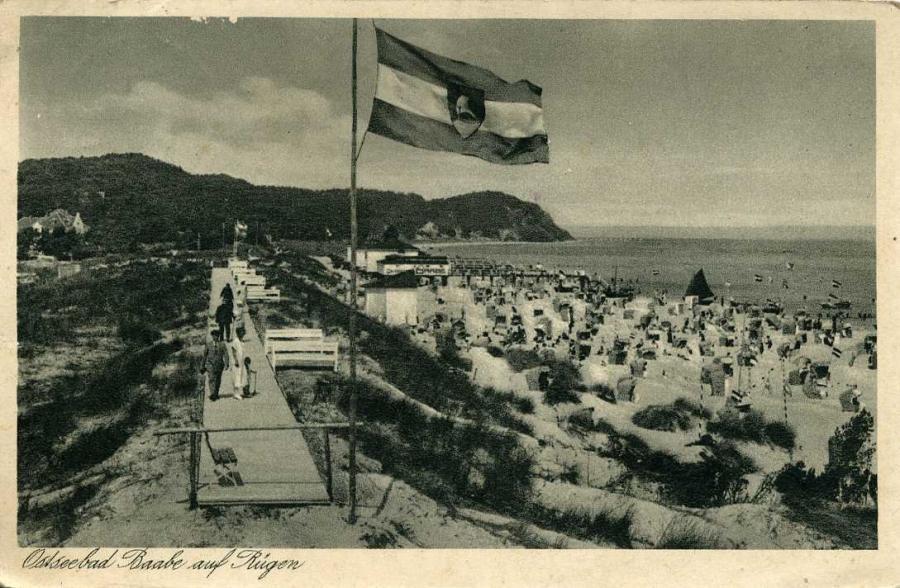 Ostseebad Baabe 1936