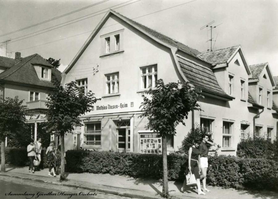 "Ostseebad Baabe FDGB-Erholungsheim "" Mathias-Thesen-Heim"""