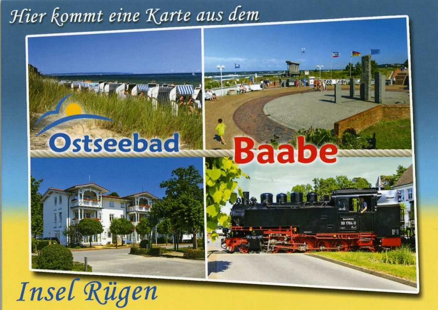 Ostseebad Baabe Insel Rügen