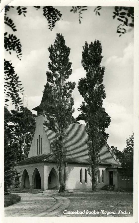 Ostseebad Baabe Kirche 1954