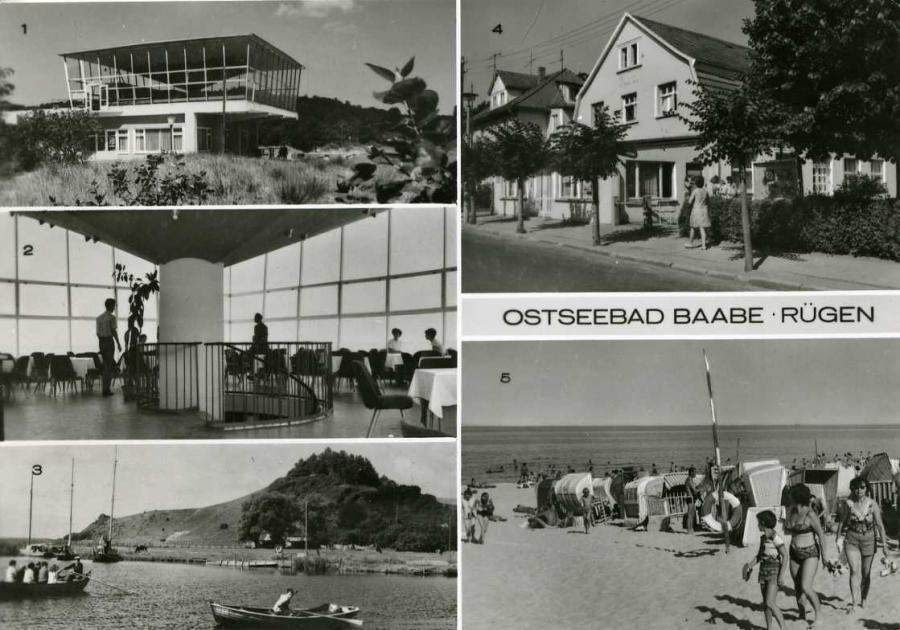 Ostseebad Baabe Rügen 1984