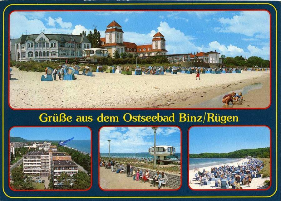 Ostseebad Binz 1998