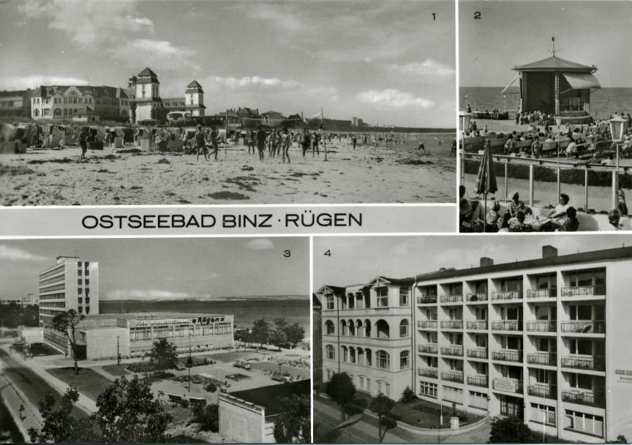 Ostseebad Binz Rügen