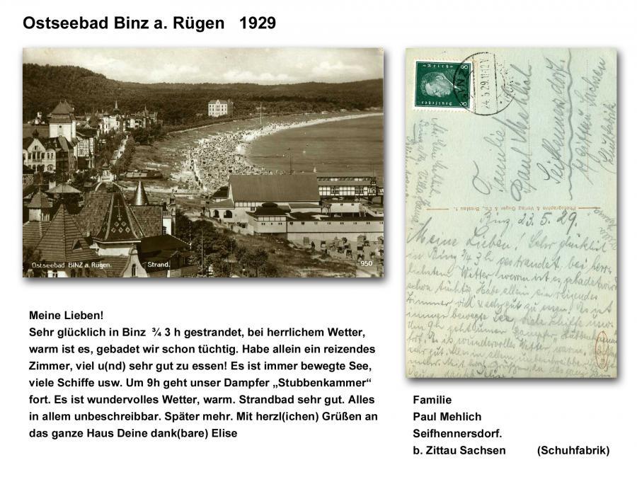 Ostseebad Binz 1929