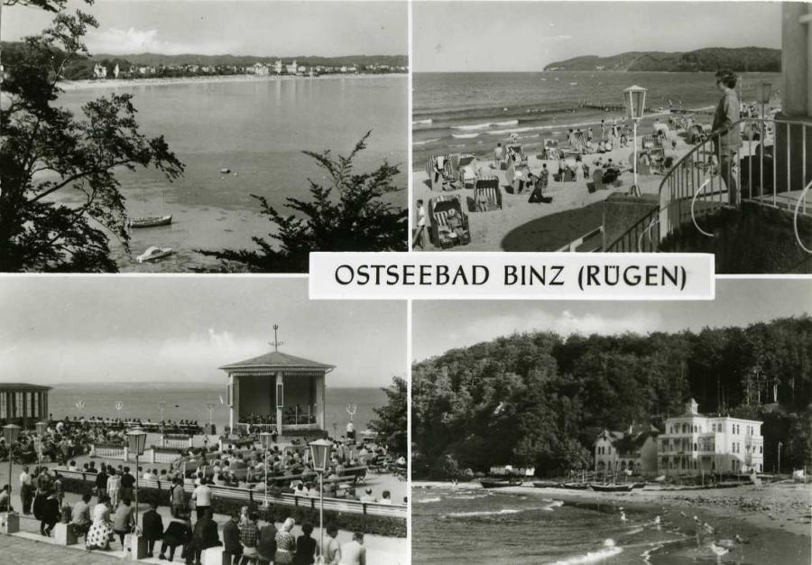 Ostseebad Binz 1981