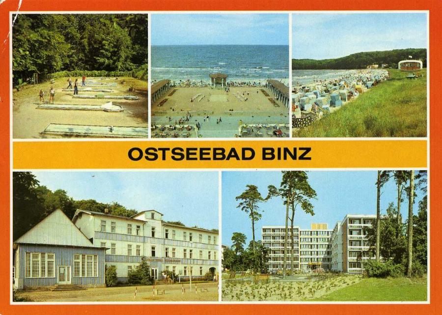 Ostseebad Binz 1984