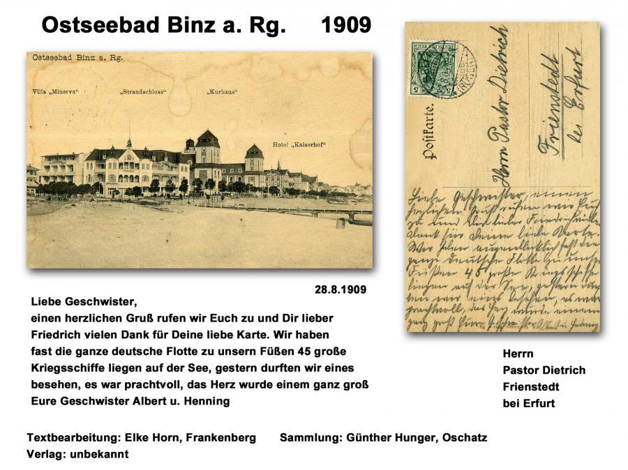 Ostseebad Binz a. Rg.