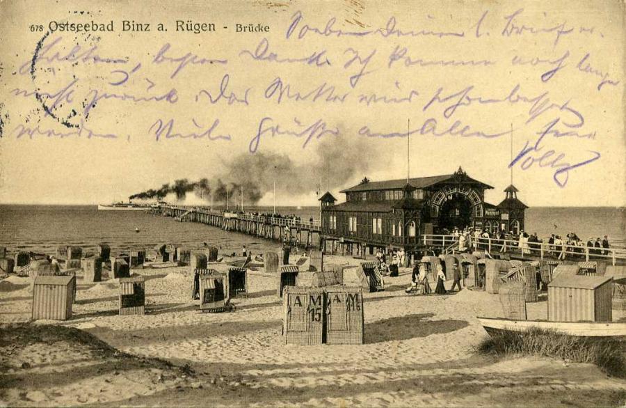 Ostseebad Binz a. Rügen Brücke