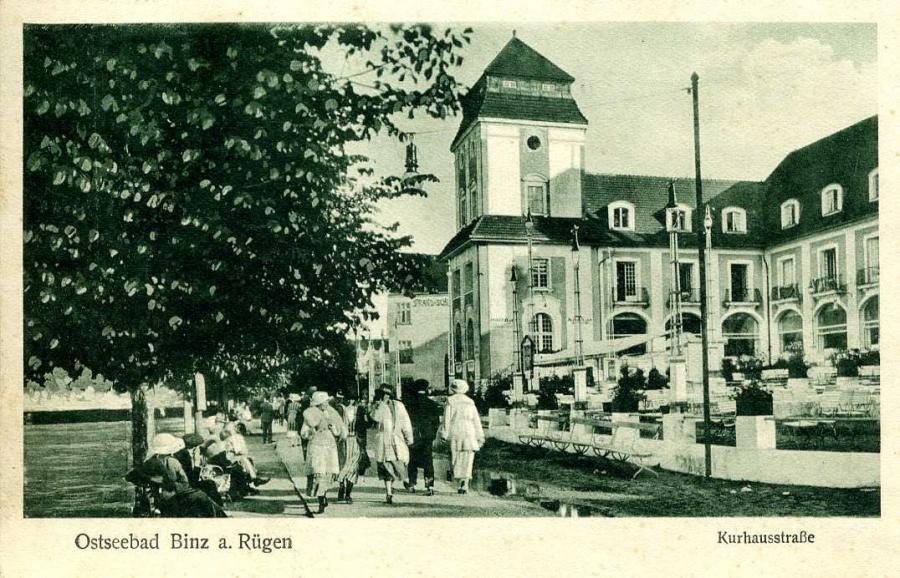 Ostseebad Binz a Rügen Kurhausstraße
