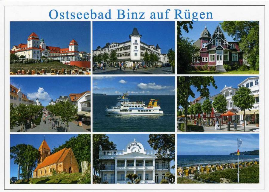 Ostseebad Binz auf Rügen
