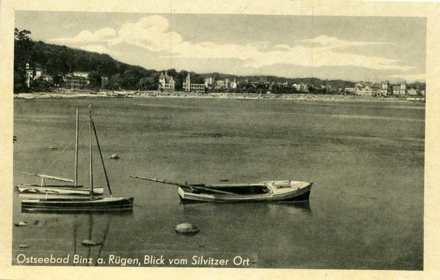 Ostseebad Binz Blick vom Silvitzer Ort