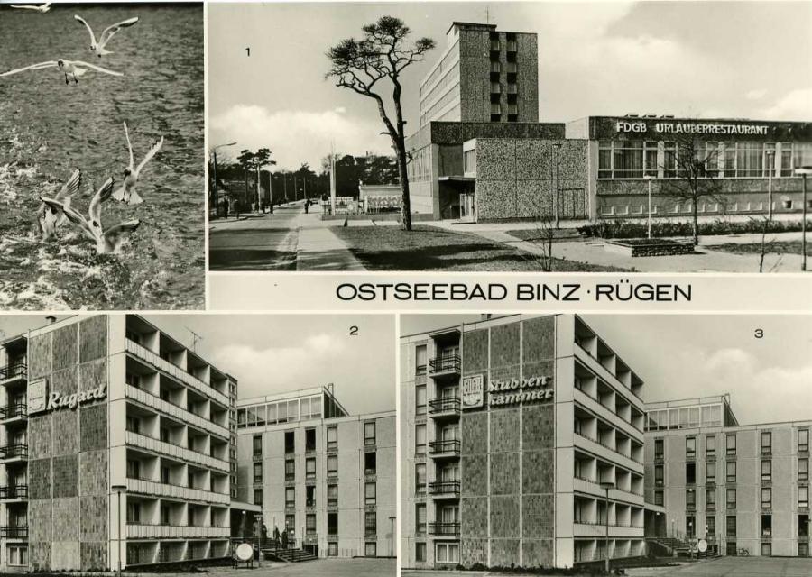 Ostseebad BinzFDGB Erholungsheime
