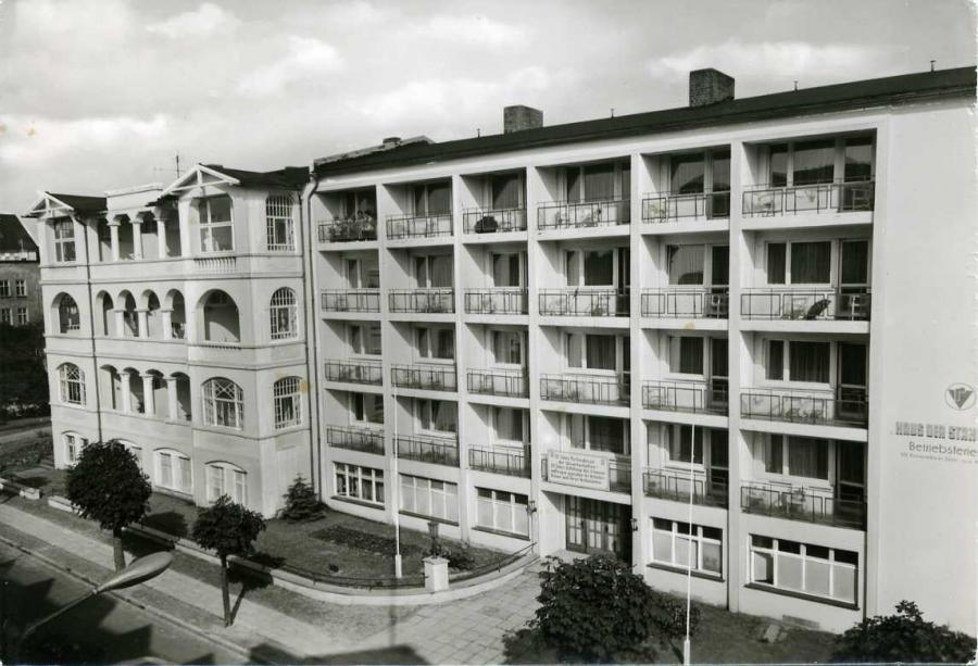Ostseebad Binz Haus der Stahlwerker