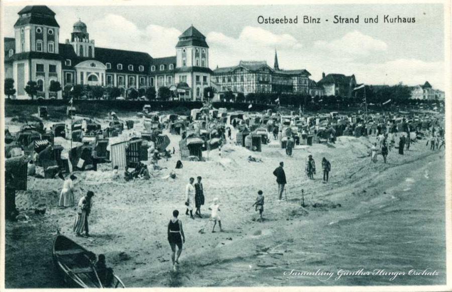 Ostseebad Binz Strand und Kurhaus
