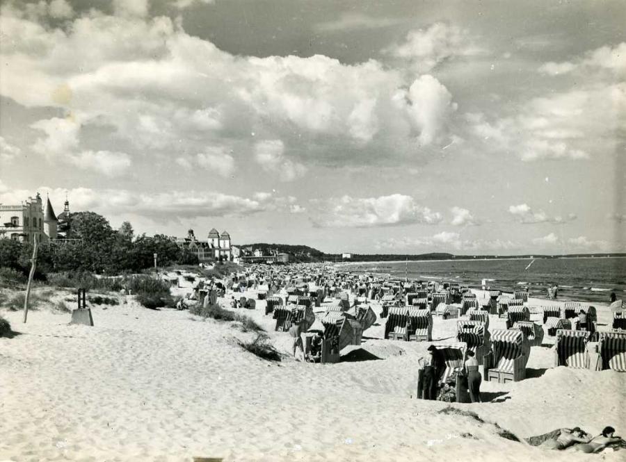 Ostseebad Binz Strandansicht