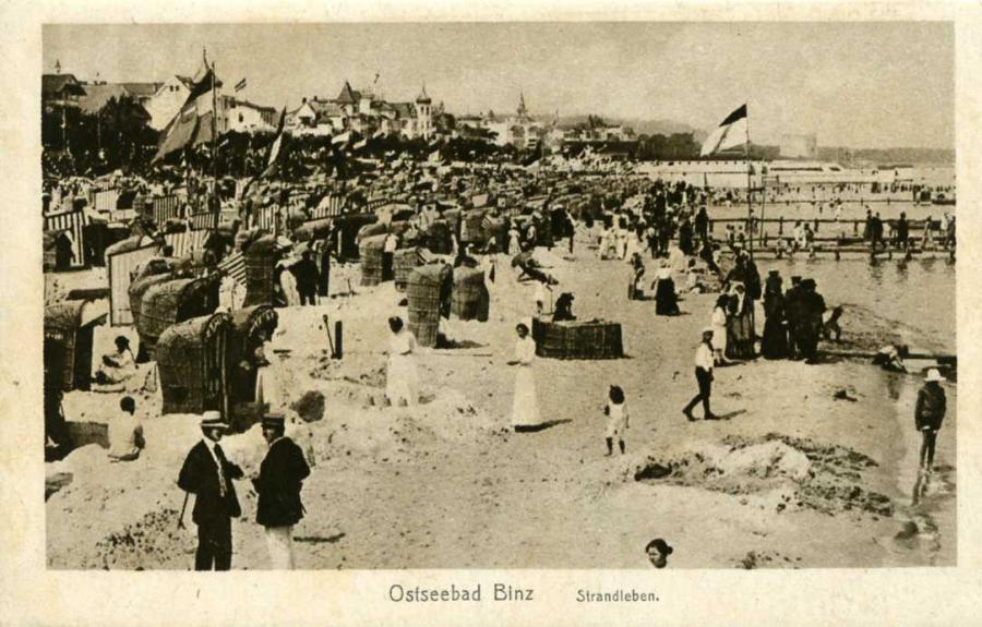 Ostseebad Binz Strandleben