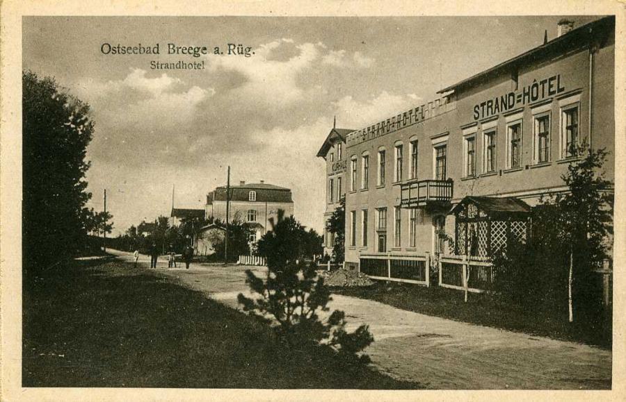 Ostseebad Breege Strandhotoel
