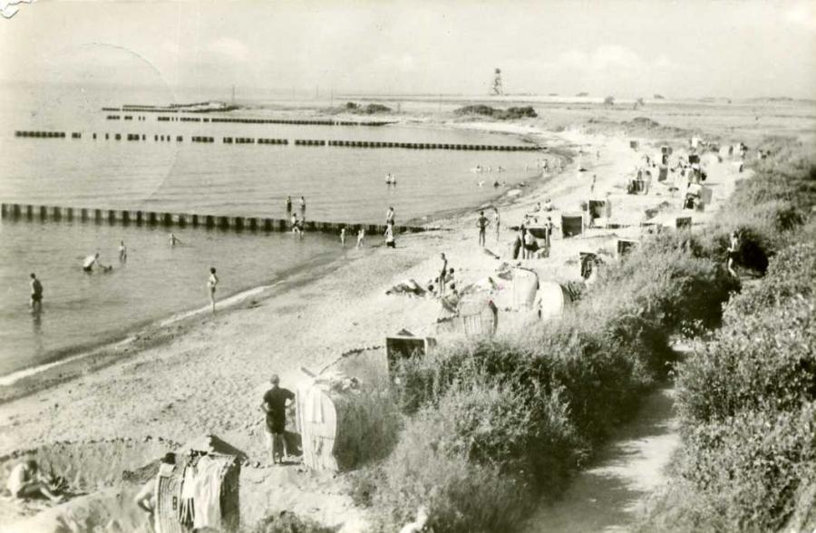 Ostseebad Dranske Strand 1958