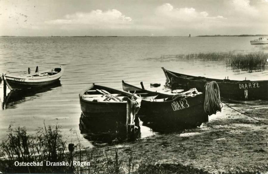 Ostseebad Dranske 1957