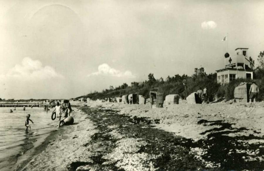Ostseebad Dranske Strand 1959